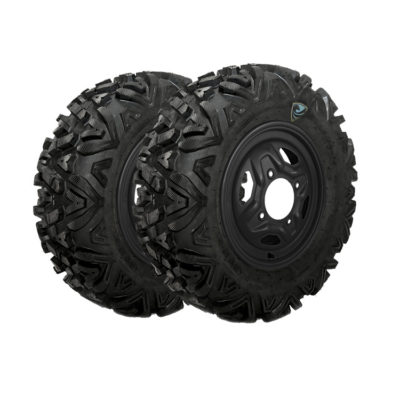 Allied Powersports RP Spartan Military Run Flat Tires Package One mounted on our Steel Wheels