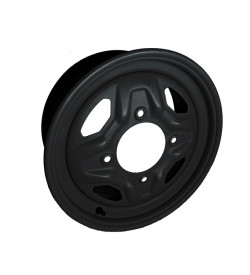 Allied Powersports Matte Black UTV Wheel fits Polaris RZR/Ranger