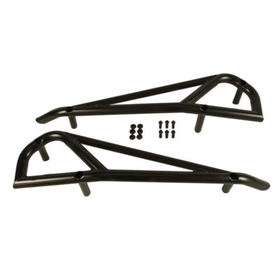 1004-BK Polaris RZR Nerf Bars by Allied Powersports-Parts