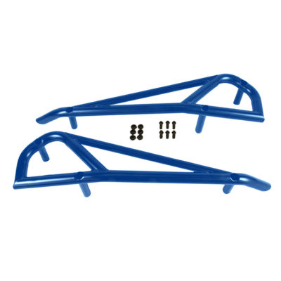 1004-BU Polaris RZR Nerf Bars by Allied Powersports-Parts