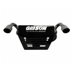 Gibson Performance UTV Dual Exhaust for 2014 Polaris Black Dual 98015