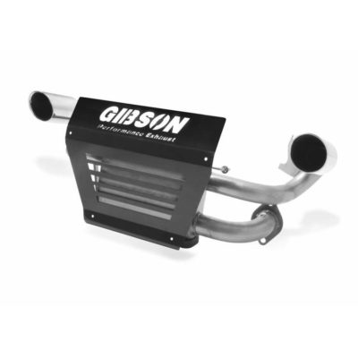 Gibson Exhaust Polaris UTV Stainless Dual 98021
