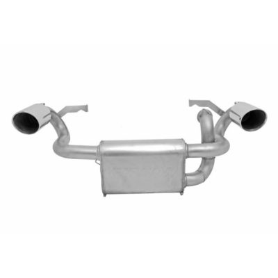 Gibson Exhaust Polaris UTV Stainless Dual 98023