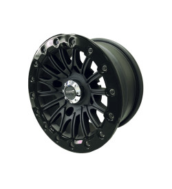 Allied Powersports GPS Extreme 14 inch Aluminum Black Beadlock UTV Wheel