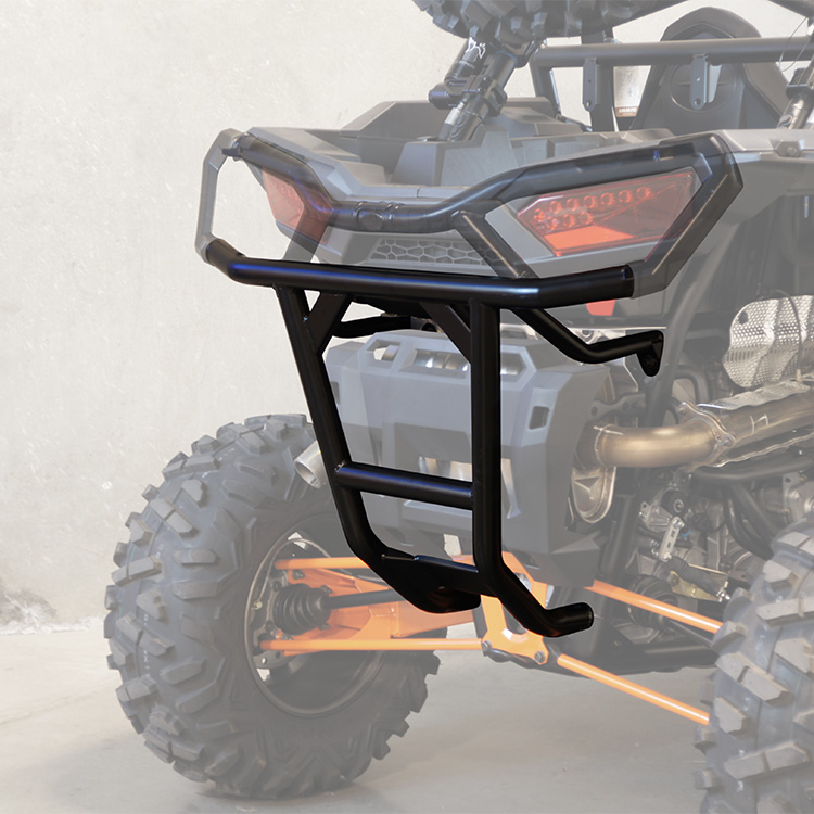 Allied Powersports Rear UTV Bumper for Polaris RZR 02