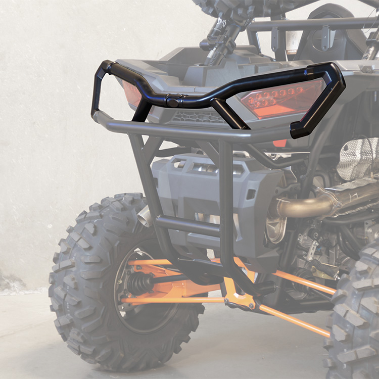 Allied Powersports Rear UTV Bumper Extenders for Polaris RZR 04