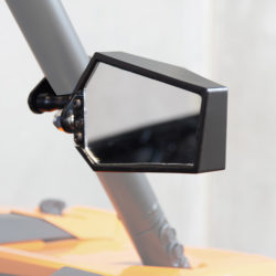 Allied Side UTV Mirrors by Allied Powersports Aluminum for Polaris Ranger/RZR 01