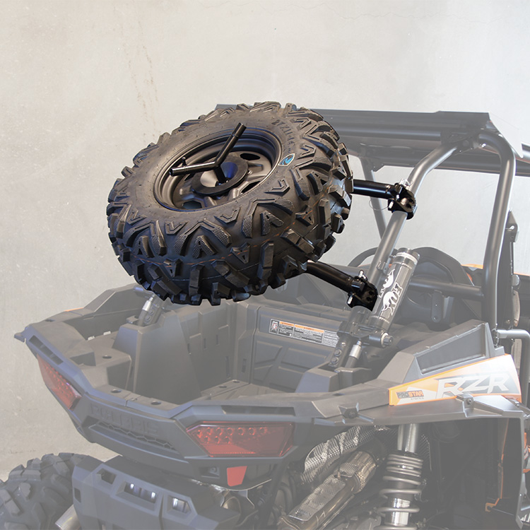 Allied Powersports Spare Tire Holder for Polaris RZR 03
