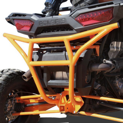 Allied Powersports Dragonfire RacePace Rear Smash Bumper for Polaris RZR 01