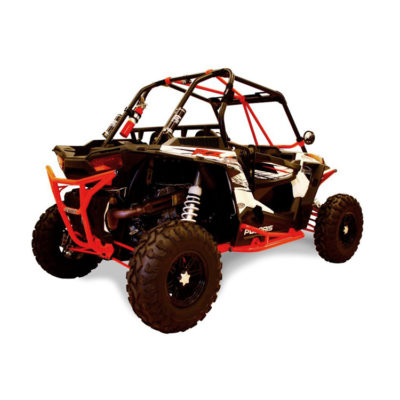 Allied Powersports Dragonfire RacePace Rear Smash Bumper for Polaris RZR 04