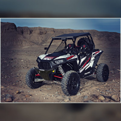 Allied Powersports Pro Armor Racing Front Bumper for Polaris RZR 03