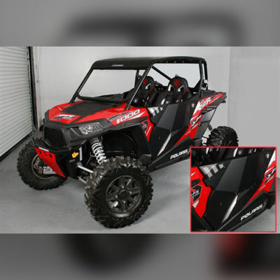 Allied Powersports Pro Armor Stealth Doors 67-41228BL 02