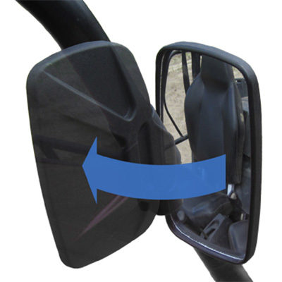 Allied Powersports Seizmik Pro Fit Mirrors SZ_18061 04