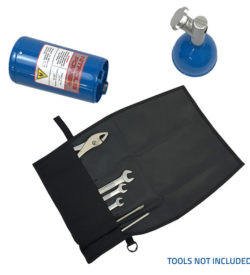 Nitrous Power Hidden Storage Container and Tool Kit Opened