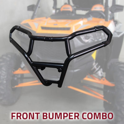 Allied Powersports Front UTV Bumper Combo for Polaris RZR