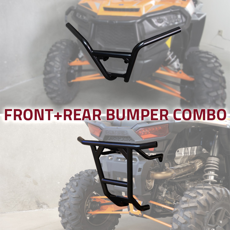 Allied Powersports UTV Bumper Combo for Polaris RZR