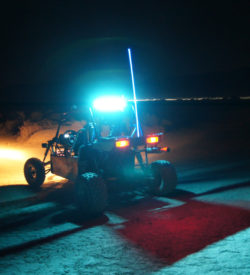 Allied Powersports Brite-Saber LED Chase Light Model ONE Mounted 02