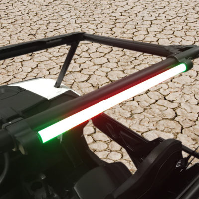 Allied Powersports Brite-Saber LED Chaser Light Model ONE Mounted 03