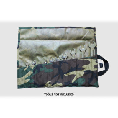 GPS Products DirtRoll Wrench Roll Camo Open Inside