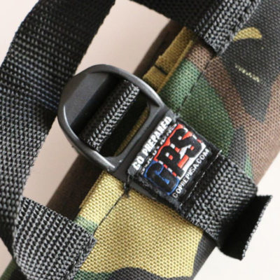 GPS Products DirtRoll Wrench Roll Camo Buckle Closeup