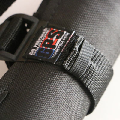 GPS Products DirtRoll Utility Tool Roll Black Strap Closeup