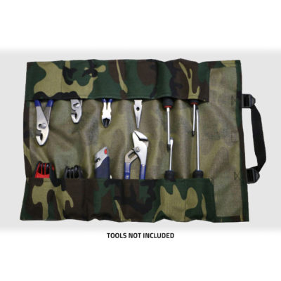 GPS Products DirtRoll Utility Tool Roll Camo Open Inside