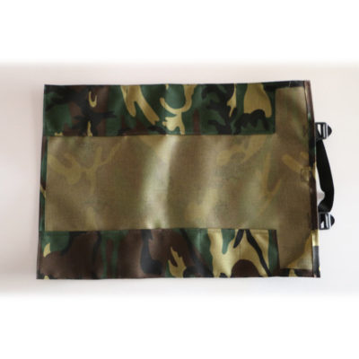 GPS Products DirtRoll Utility Tool Roll Camo Open Inside Empty