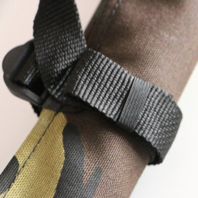 GPS Products DirtRoll Utility Tool Roll Camo Strap Closeup