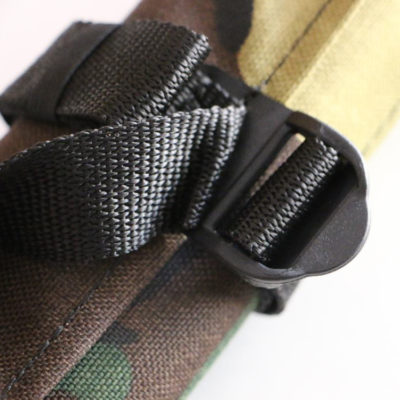 GPS Products DirtRoll Utility Tool Roll Camo Buckle Closeup
