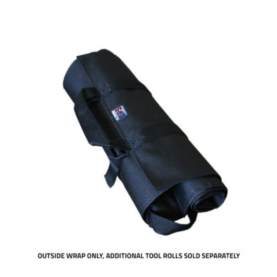 GPS Products DirtRoll Wrap Black Rolled
