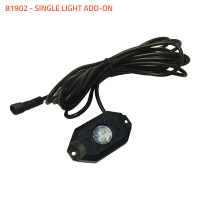 Allied Powersports Brite Saber LED Puddle Light Single Light