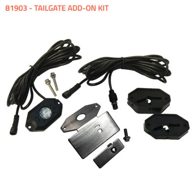 Allied Powersports Brite Saber LED Puddle Light Tailgate Add On