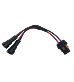 TRIGGER ACS 12 Gauge Short Y Harness | Allied Powersports
