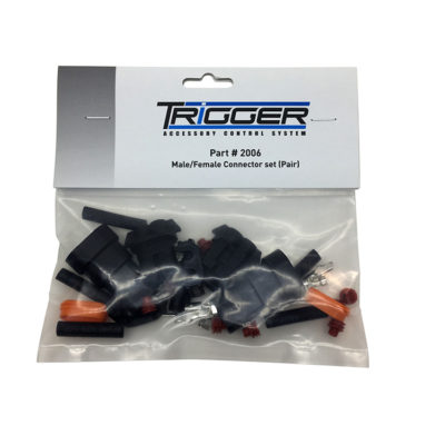 TRIGGER ACS Male-Female Connector Set Packaging | Allied Powersports
