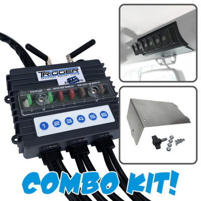 TRIGGER SIX SHOOTER Wireless Controller Combo Kit
