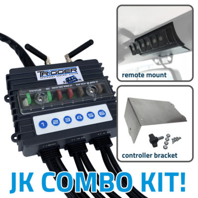 TRIGGER SIX SHOOTER Wireless Controller Combo Kit Jeep JK